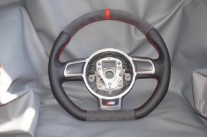 volante Audi alcantara