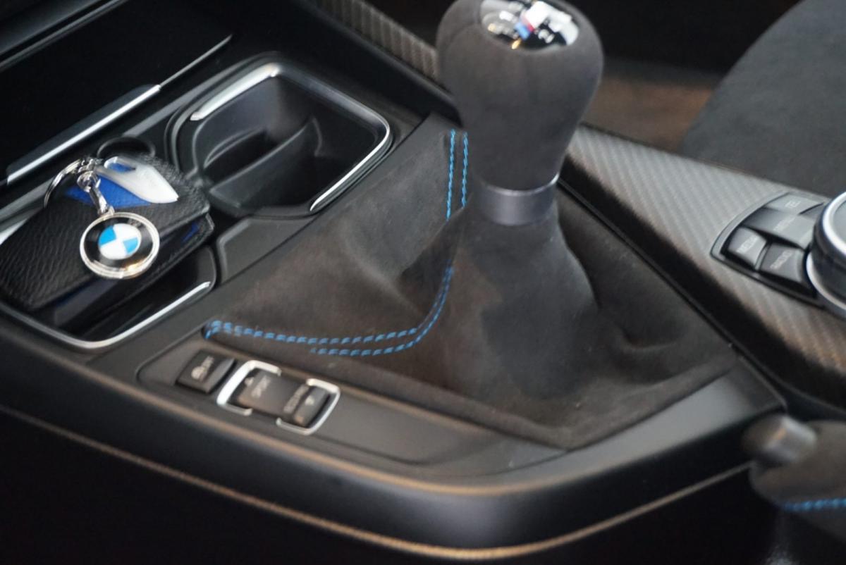 Tapizado cambio de marchas de BMW
