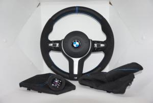 Volante y pomo de BMW