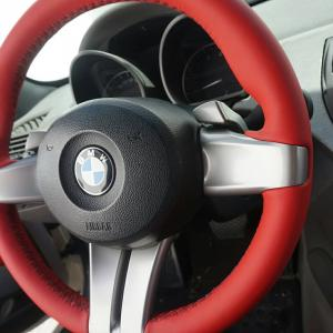 Volante BMW tapiceria cuero