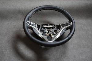 Honda cuero granulado y perforado