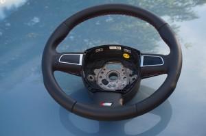 nappa liso y microperforado Audi