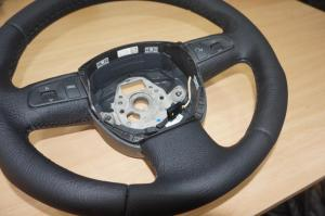 volante Seat cuero natural granulado