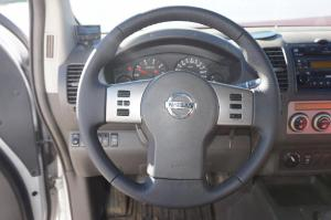 volante Nissan, tapizado cuero granulado